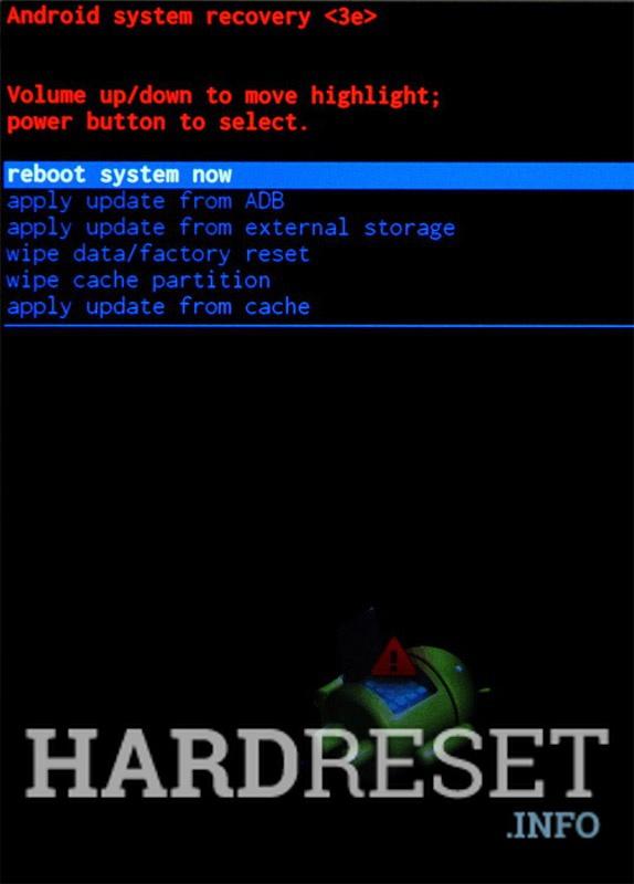 Recovery Mode ZTE Prestige 2 - HardReset info