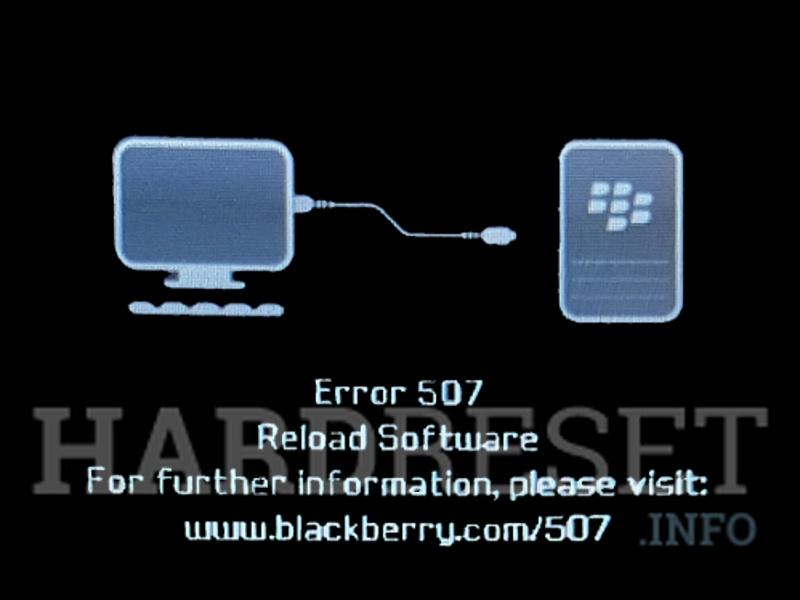 How Update / Change / Repair Firmware in BLACKBERRY Bold 9700 phone