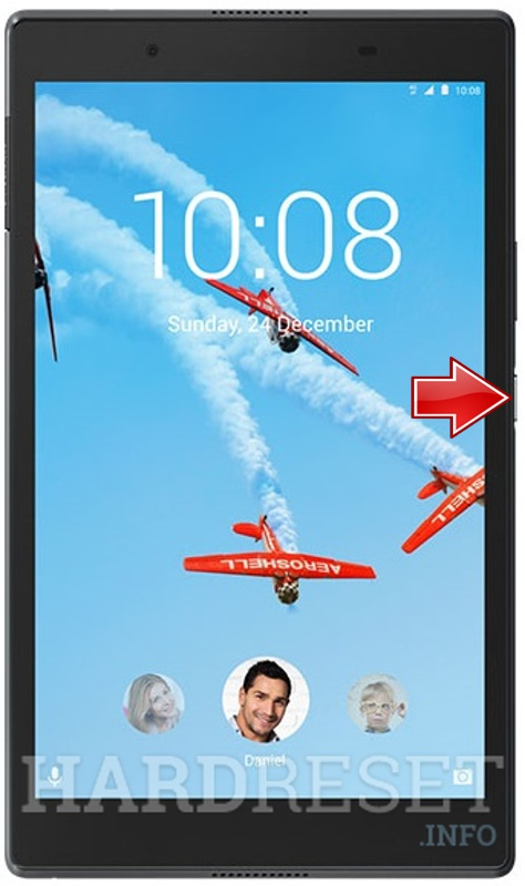 Fastboot Mode LENOVO Tab 4 8 Plus Wi-Fi - HardReset info