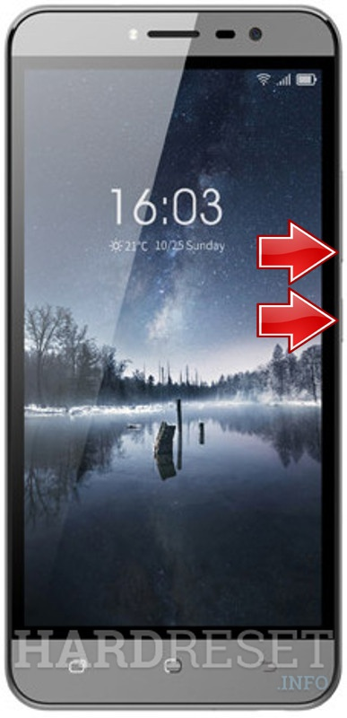 Remove screen password on HISENSE F23