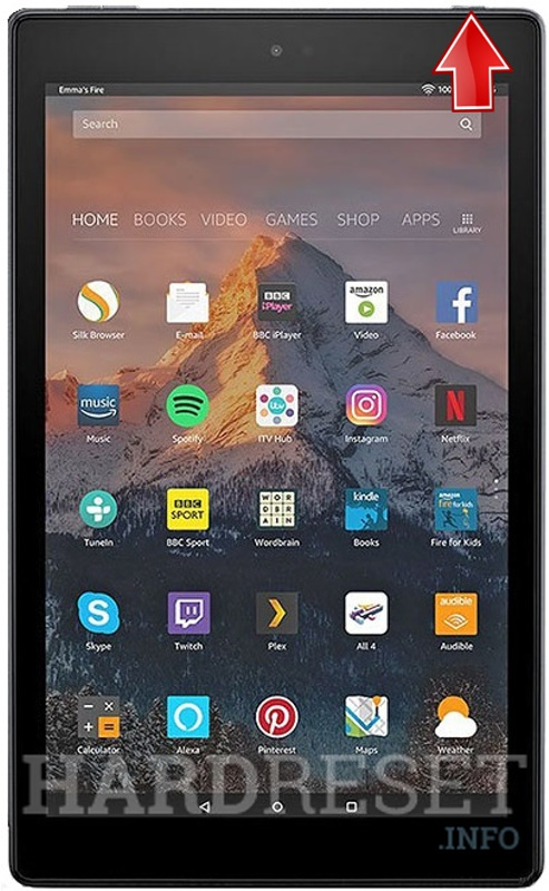 Recovery Mode AMAZON Fire HD 10 2017 - HardReset info