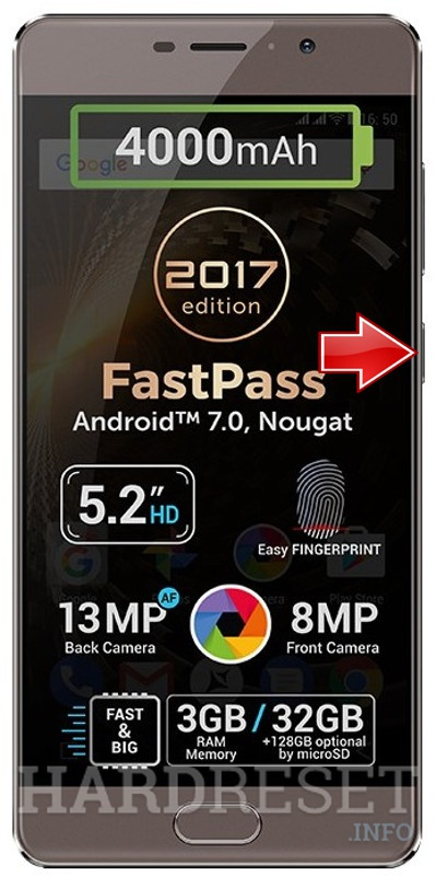 Hard Reset ALLVIEW P9 Energy lite 2017