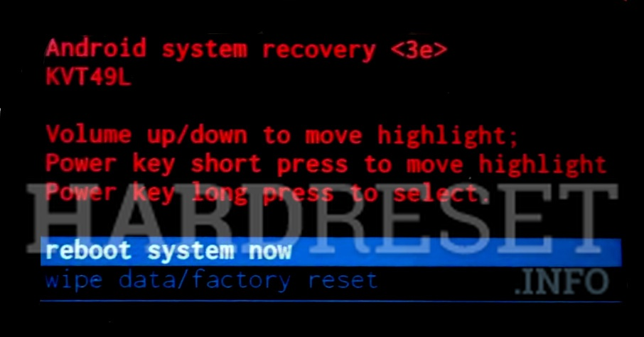 Factory Reset SHARP MS1