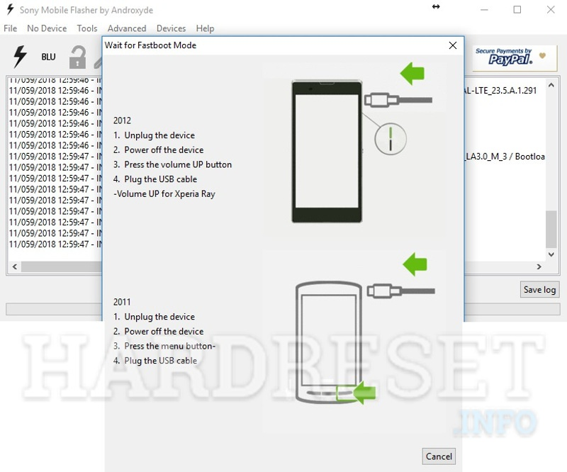 How to Unlock Bootloader in SONY Xperia L1 G3311 phone