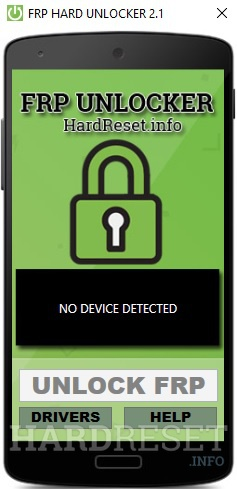 frp unlocker v2.1 by hardreset.info no device connected