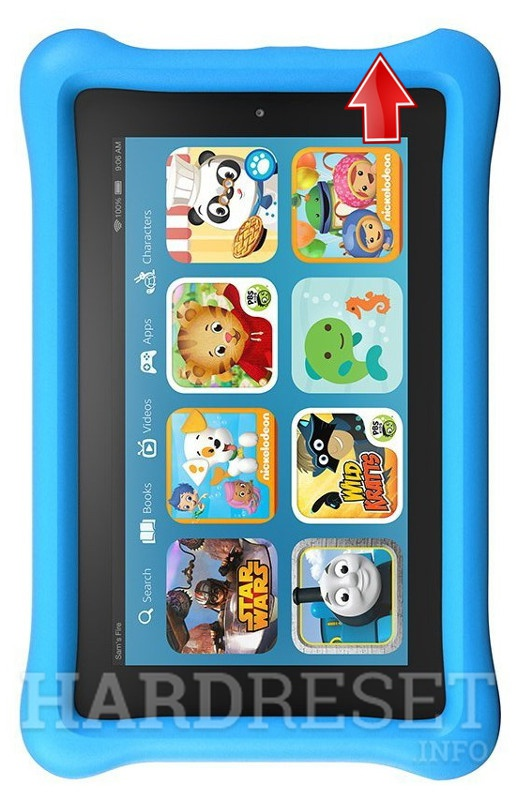 Retirer le verrouillage sur  AMAZON Fire Kids Edition
