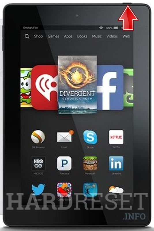 Recovery Mode AMAZON Fire HD 7 - HardReset info