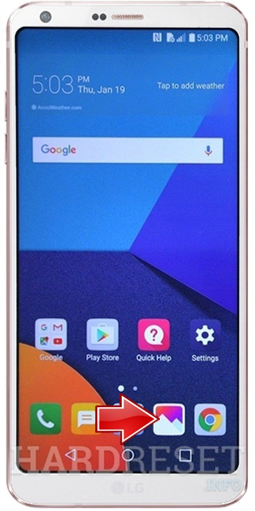 How To Take Screenshot In Lg Stylo 2 Plus K550 How To Hardreset Info