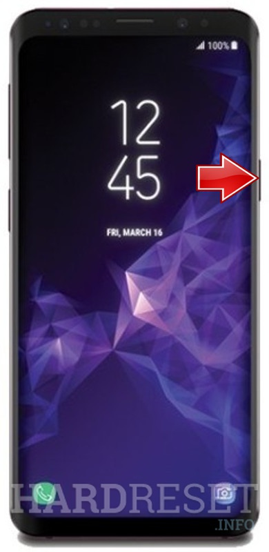 Reset Network Settings SAMSUNG Galaxy S9 - HardReset info