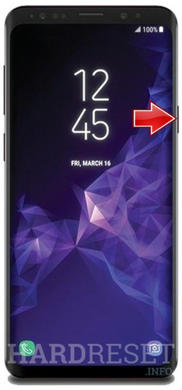 Hard Reset SAMSUNG Galaxy S9+ - HardReset info