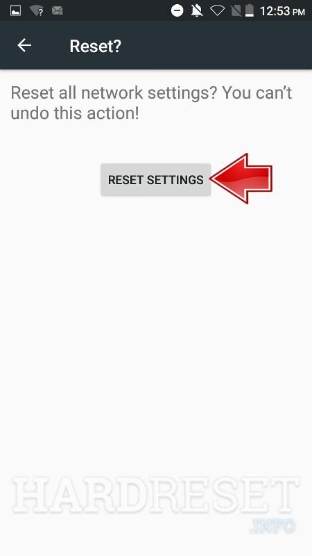 Reset Network Settings ZTE Blade Z Max Z982 - HardReset info