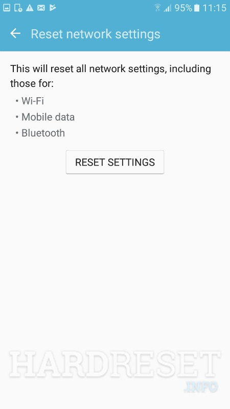 Reset Settings SAMSUNG G935T Galaxy S7 Edge (T-Mobile
