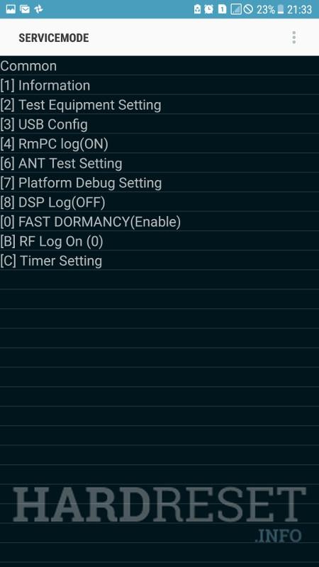 Codes SAMSUNG Galaxy J3 Luna Pro - HardReset info