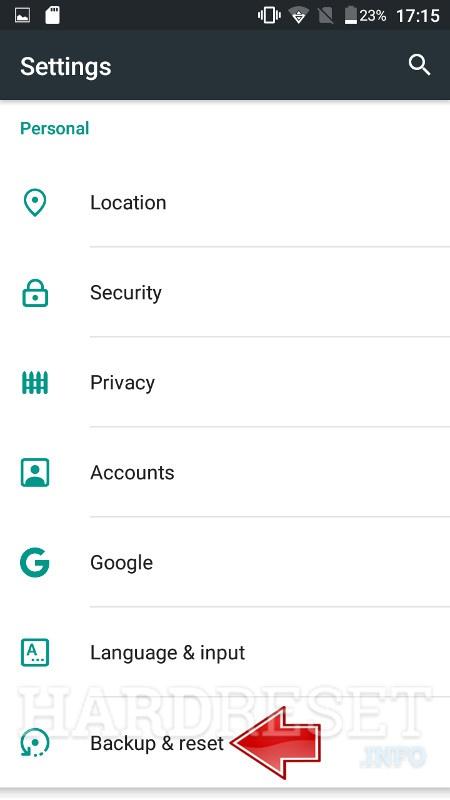 Reset Network Settings ASUS ZenFone 5 2018 - HardReset info