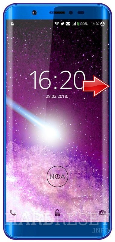 Permanently delete data from NOA N7