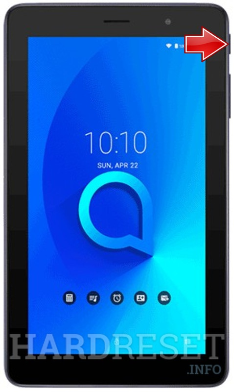Hard Reset ALCATEL 1T 7