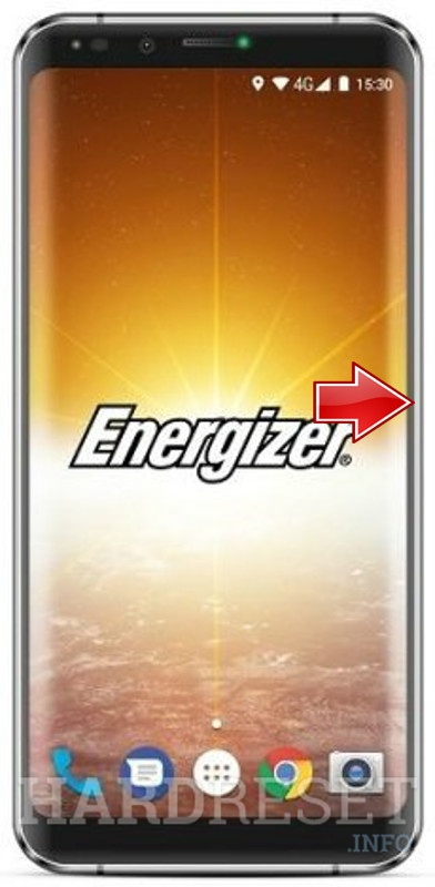 Hard Reset ENERGIZER Power Max P490S