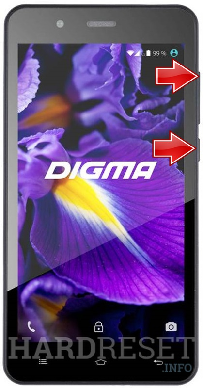 Hard Reset DIGMA Vox S506 4G
