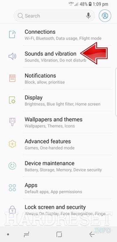 Do Not Disturb Mode SAMSUNG Galaxy S9 - HardReset info