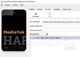 Where can get MTK scatter file? How to download MTK CPU