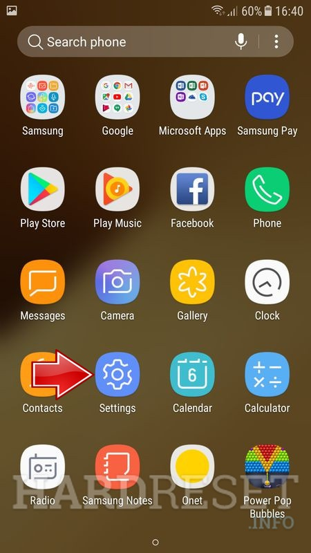 How to move application in SAMSUNG Galaxy J7 Prime from phone memory