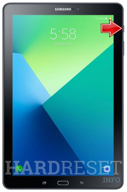 "Hard Reset SAMSUNG P585M Galaxy Tab A 10.1"" LTE with S Pen"