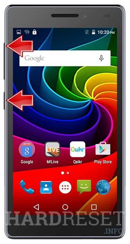 Wipe data on MICROMAX Bolt Q332