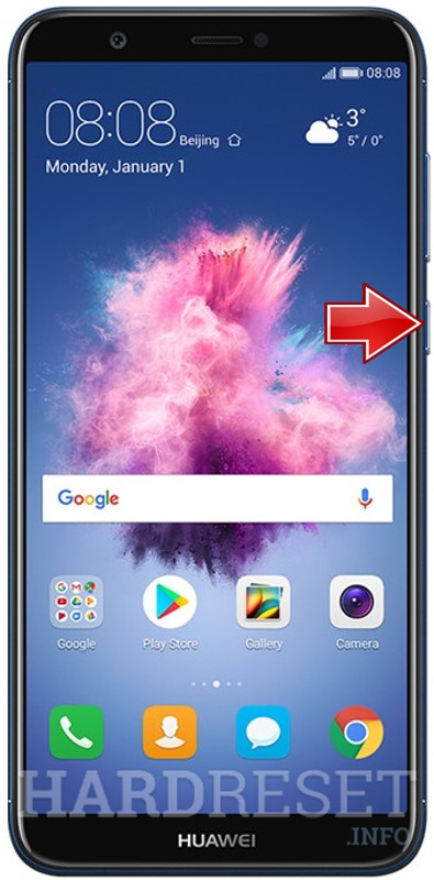 Remove screen password on HUAWEI P Smart