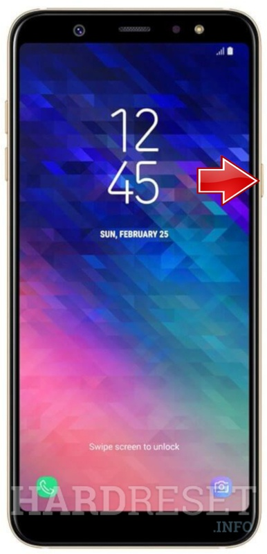 Recovery Mode SAMSUNG Galaxy A6+ - HardReset info