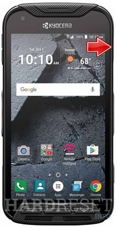 How to Hard Reset my phone - KYOCERA DuraForce Pro KC-S702