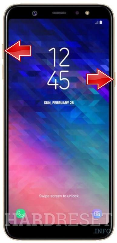 Hard Reset SAMSUNG Galaxy A6+ - HardReset info