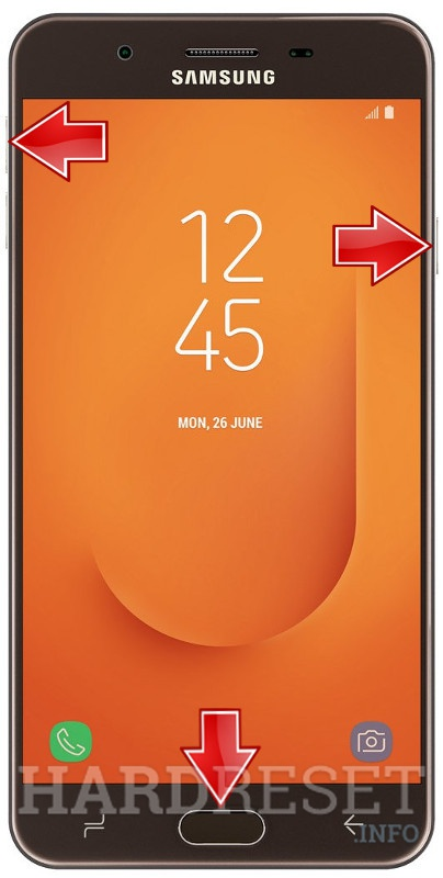Permanently delete data from SAMSUNG Galaxy J7 Prime 2