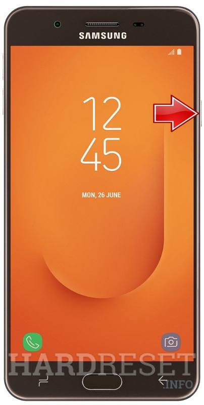 Remove Screen Lock on SAMSUNG Galaxy J7 Prime 2