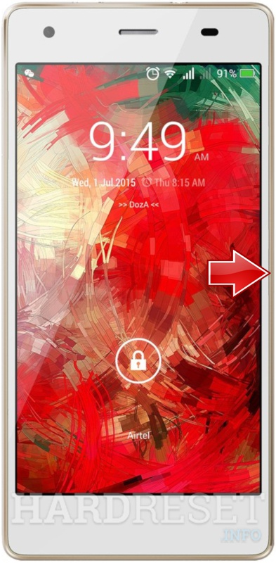Hard Reset INTEX Cloud Flash