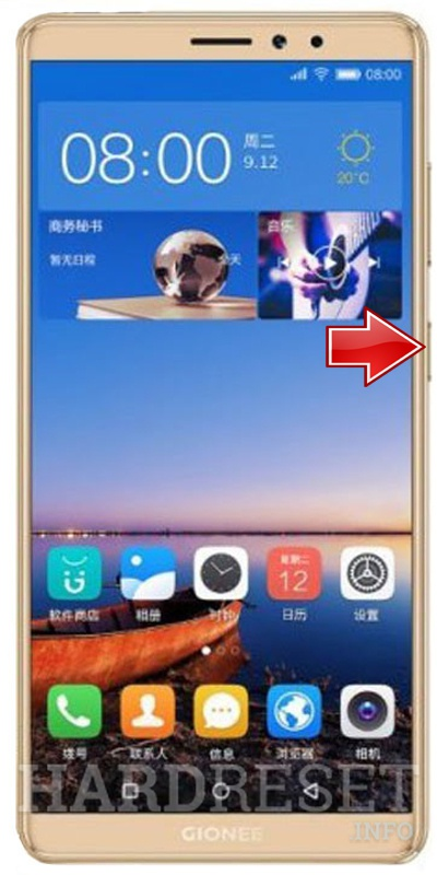 Factory Reset GIONEE M7 Mini