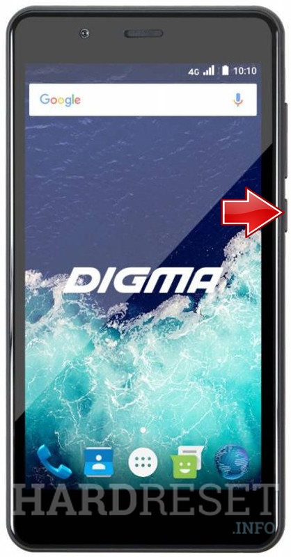 Hard Reset DIGMA Vox S507 4G