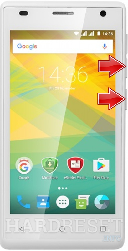 Permanently delete data from PRESTIGIO Wize OK3