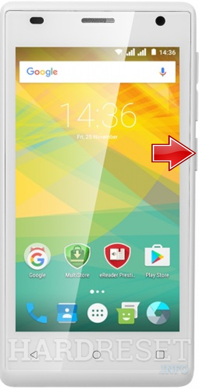 Remove Screen Lock on PRESTIGIO Wize OK3