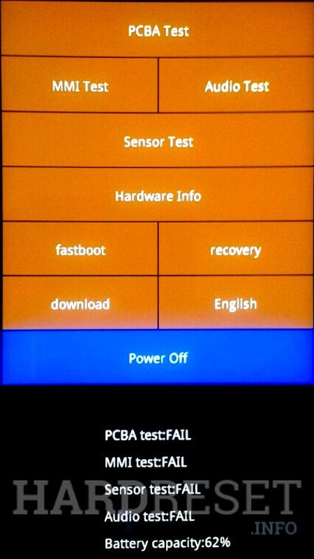 Recovery Mode XIAOMI Redmi 5A - HardReset info