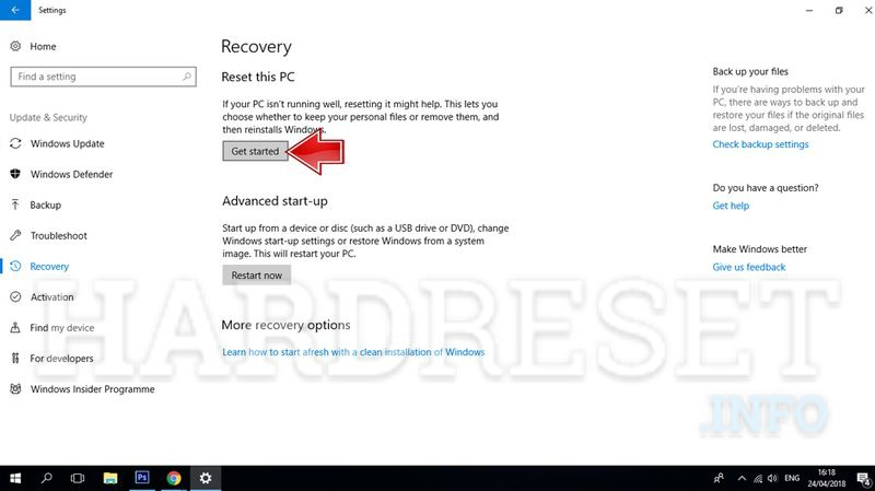 How to Hard Reset my phone - ASUS Transformer Book T101HA