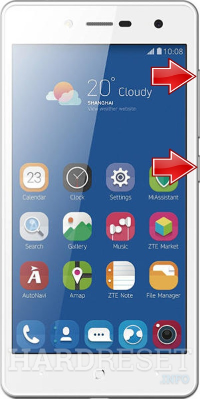 Remove Screen Lock on ZTE Blade L7