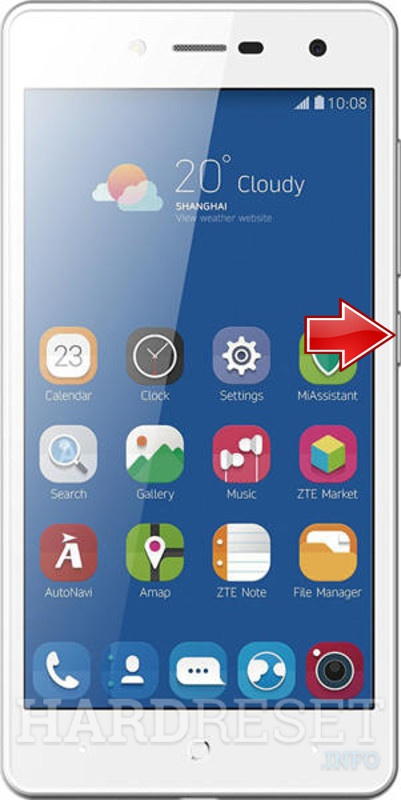 Remove screen password on ZTE Blade L7