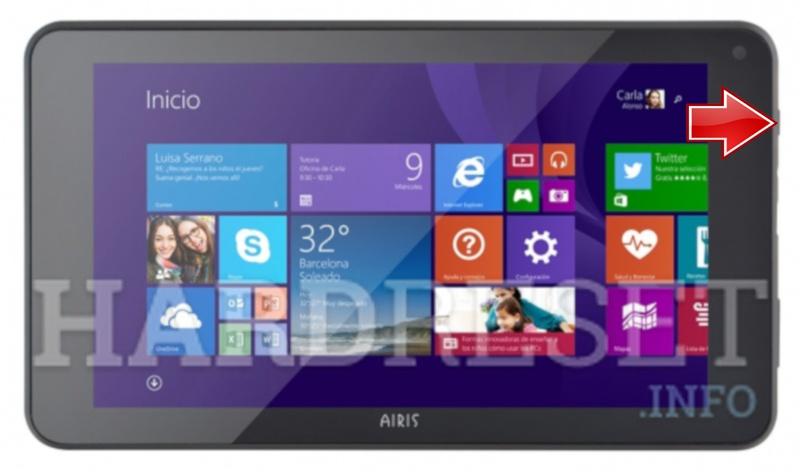 Hard Reset AIRIS WinPad 70W - HardReset info
