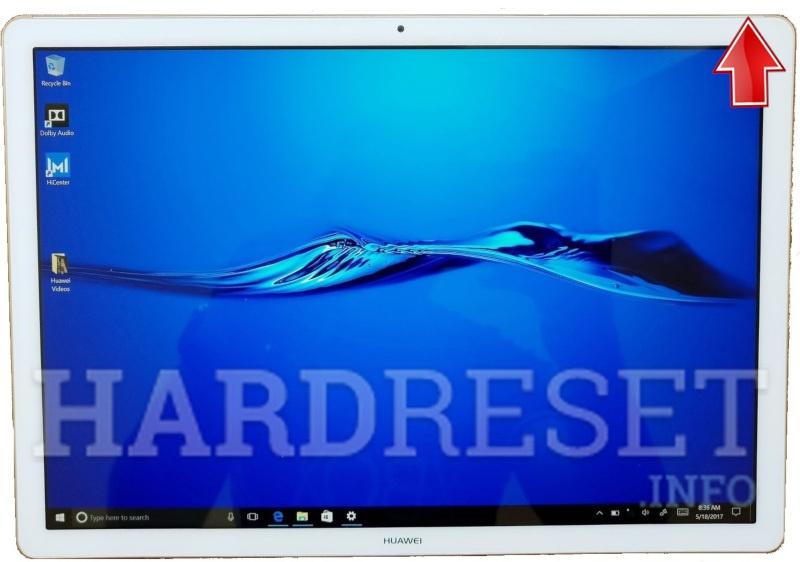 Boot Mode HUAWEI MateBook E - HardReset info