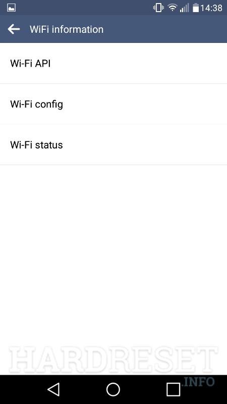 Codes LG Premier Pro LTE - HardReset info