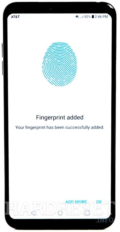 Add Fingerprint LG Stylo 4 - HardReset info
