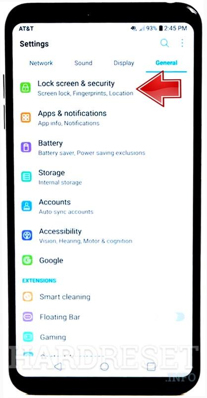 Add Fingerprint LG Aristo 2 Plus - HardReset info