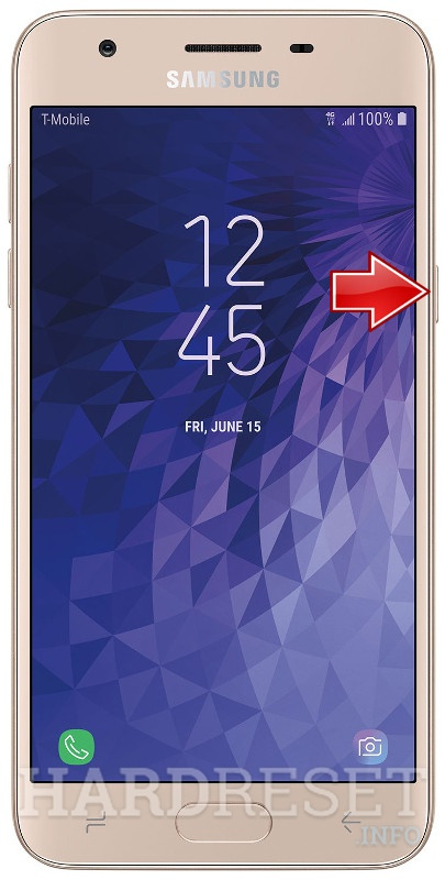 Remove screen password on SAMSUNG Galaxy J3 Star
