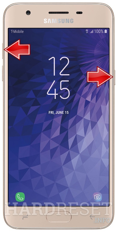 Remove Screen Lock on SAMSUNG Galaxy J3 Star