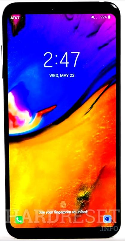 Add Fingerprint LG X5 (2018) - HardReset info
